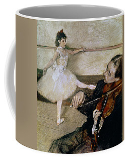 The Dance Lesson Coffee Mug