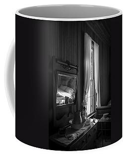 The Empty Bed Coffee Mug by Lynn Palmer