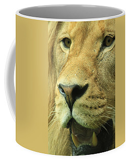 The Face Of God Coffee Mug by Laddie Halupa