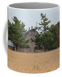 Coffee Mug featuring the photograph The Farm by Bonfire Photography