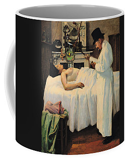 The First Attempt To Treat Cancer With X Rays Coffee Mug