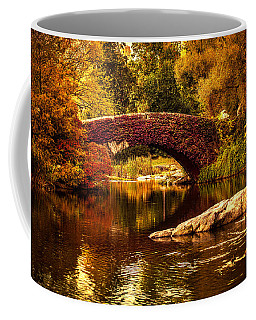 Coffee Mug featuring the photograph The Gapstow Bridge by Chris Lord