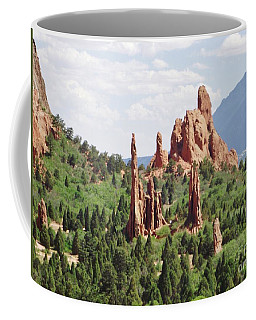 The Garden Of The Gods Coffee Mug
