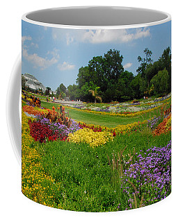 The Gardens Of The Conservatory Coffee Mug by Lynn Bauer