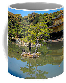 The Golden Pavilion Coffee Mug by Jonah  Anderson