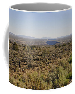 Coffee Mug featuring the photograph The Gorge On The Mesa by Ron Cline