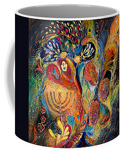 The Grapes Of Holy Land. The Original Can Be Purchased Directly From Www.elenakotliarker.com Coffee Mug