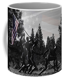 Coffee Mug featuring the photograph The Greatest Generation  by Larry Depee