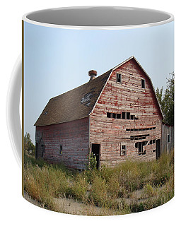 Coffee Mug featuring the photograph The Hole Barn by Bonfire Photography