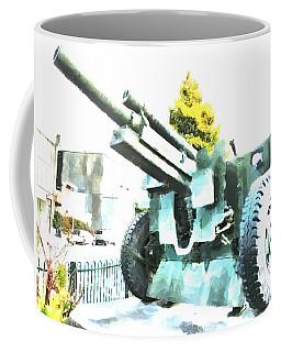 The Howitzer 105mm Field Gun Carriage Coffee Mug