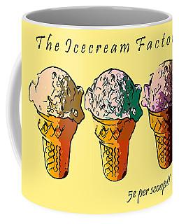 The Icecream Factory . 3 Cents Per Scoop Coffee Mug
