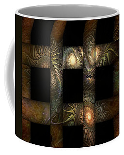 Coffee Mug featuring the digital art The Indomitability Of The Idea by Casey Kotas