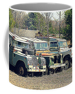 The Land Rover Graveyard Coffee Mug