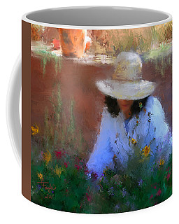 The Light Of The Garden Coffee Mug by Colleen Taylor