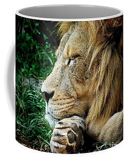 The Lions Sleeps Coffee Mug