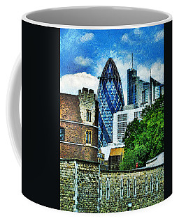 The London Gherkin  Coffee Mug
