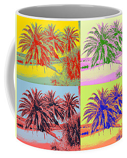 Coffee Mug featuring the photograph The Loop In Pop Art by Alice Gipson
