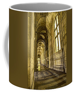 The Louvre Hall Of Shadows Coffee Mug