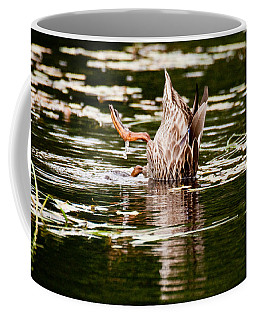 The Meaning Of Duck Coffee Mug by Brent L Ander
