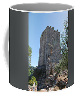 Coffee Mug featuring the photograph The Medieval Tower by Dany Lison
