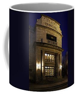 The Meeting Place Coffee Mug by Lynn Palmer
