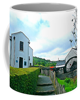 Coffee Mug featuring the photograph The Mill by Charlie and Norma Brock