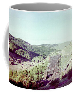 Coffee Mug featuring the photograph The Mine by Bonfire Photography