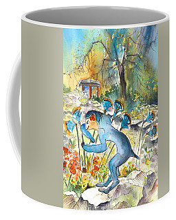 The Minotaur In Knossos Coffee Mug