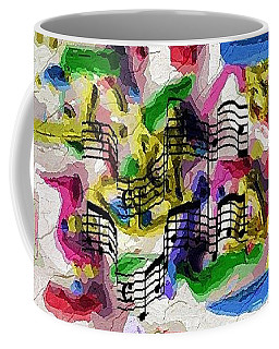 Coffee Mug featuring the digital art The Music In Me by Alec Drake