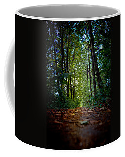 The Pathway In The Forest Coffee Mug