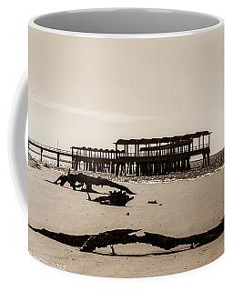 Coffee Mug featuring the photograph The Pier by Shannon Harrington
