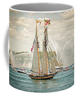Coffee Mug featuring the photograph The Pride Of Baltimore by Verena Matthew