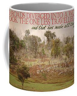 The Road Less Travelled Coffee Mug