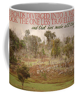 The Road Less Travelled Coffee Mug