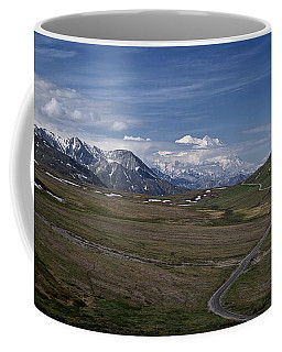 The Road To The Great One Coffee Mug by Wes and Dotty Weber