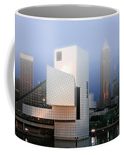The Rock And Roll Hall Of Fame Coffee Mug