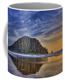 Coffee Mug featuring the photograph The Rock by Beth Sargent