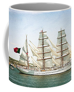 Coffee Mug featuring the photograph The Sagres by Verena Matthew