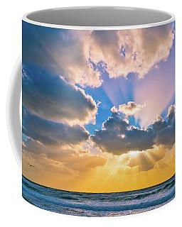 The Sea In The Sunset Coffee Mug