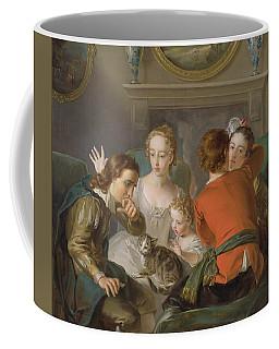 The Sense Of Touch Coffee Mug