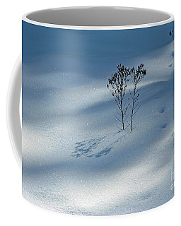 Coffee Mug featuring the photograph The Shadow Of Loneliness by Ausra Huntington nee Paulauskaite