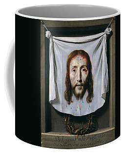 The Shroud Of St Veronica Coffee Mug