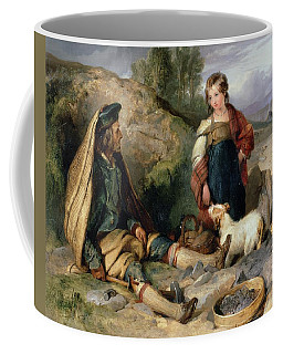 The Stone Breaker And His Daughter Coffee Mug