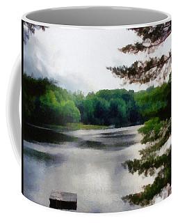 The Swimming Dock Coffee Mug