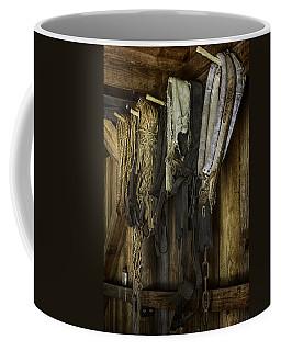 The Tack Room Wall Coffee Mug by Lynn Palmer