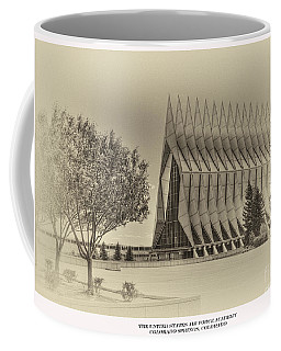 The United States Air Force Academy Chapel Coffee Mug