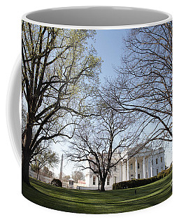 The White House And Lawns Coffee Mug