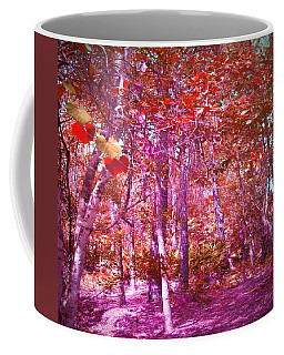 Coffee Mug featuring the photograph Thicket In Color by George Pedro