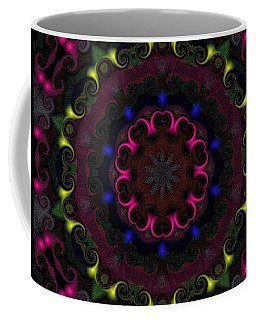 Coffee Mug featuring the digital art Think Pink by Alec Drake