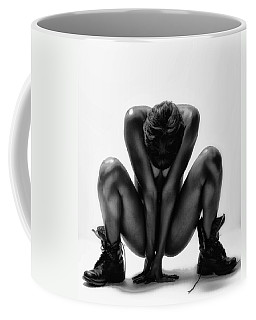 Coffee Mug featuring the photograph This Woman's Work by Angelique Olin